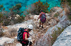 Hiking, climbing, canyoning and via ferrata in the wildest landscape of Sardinia, Italy